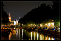 Amsterdam Centraal Night Walk
